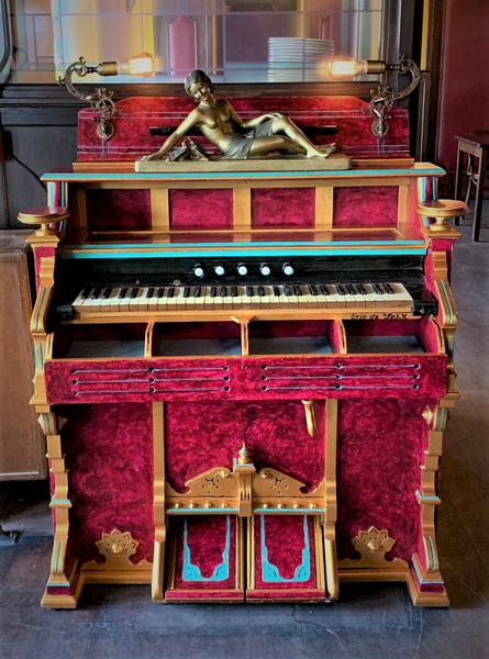 Van orgel naar bestekbak