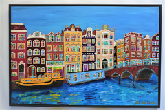 Wandeling door Amsterdam